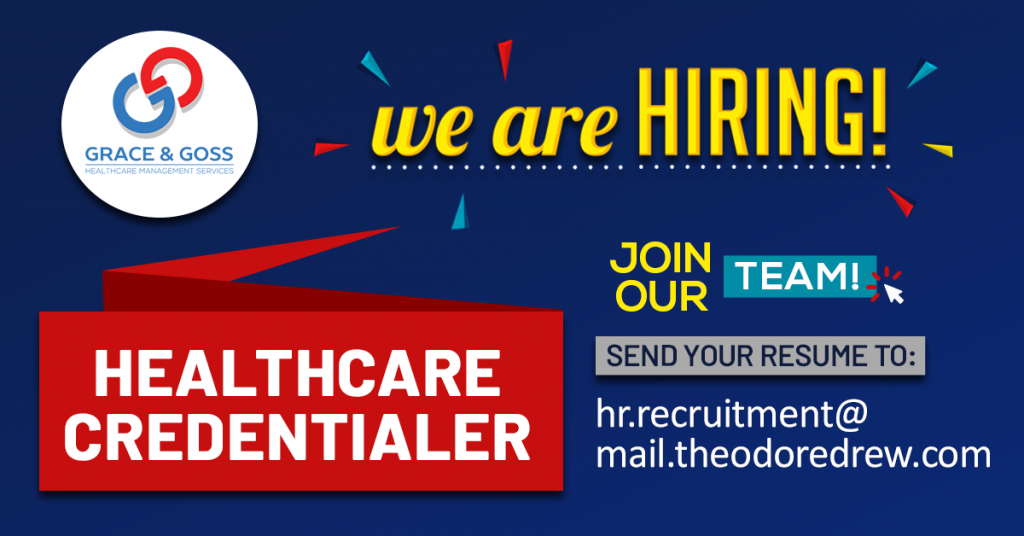 health credentialer